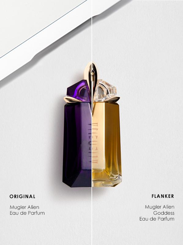 Original vs Flanker Fragrances; Thierry Mugler Alien Eau de Parfum and Alien Goddess Eau de Parfum