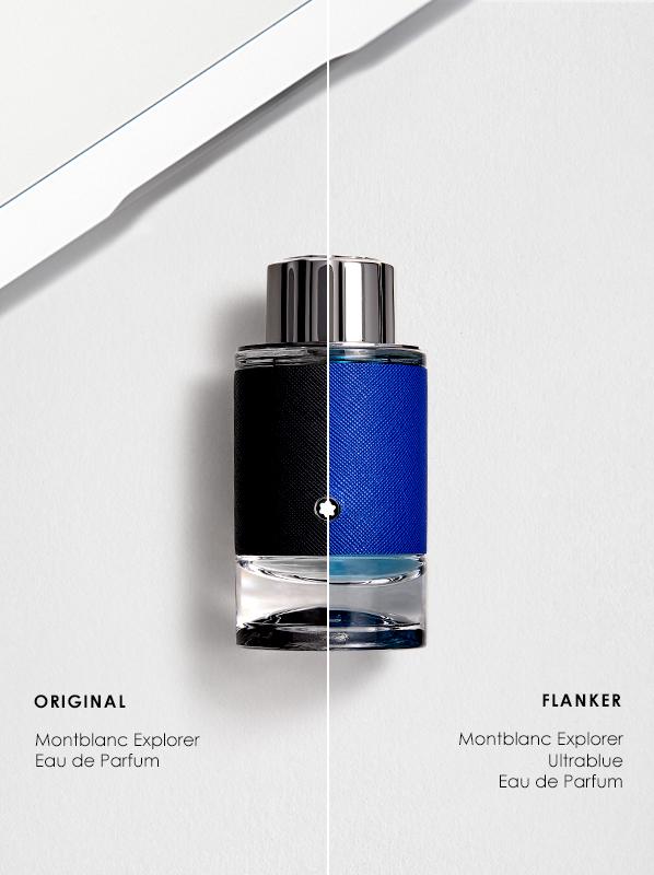 Original vs Flanker Fragrances; Montblanc Explorer Eau de Parfum and Explorer Ultrablue Eau de Parfum