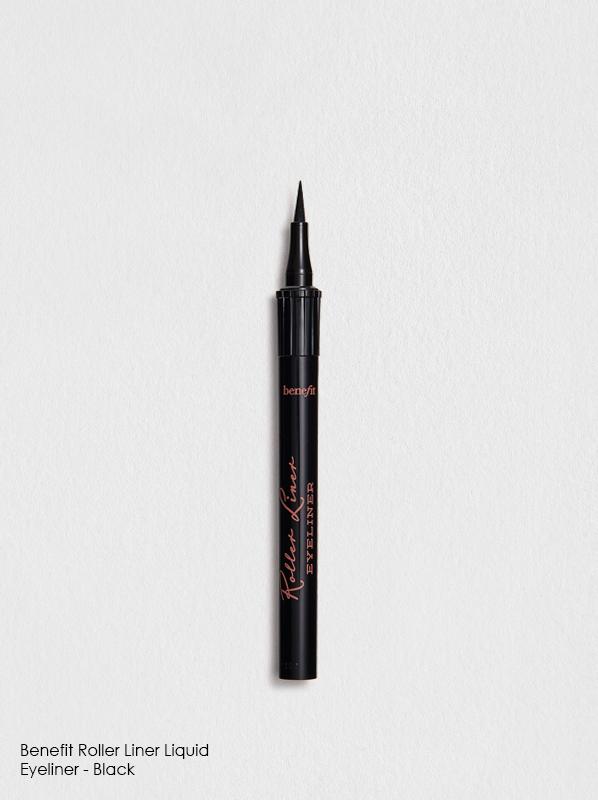 Best eyeliner for edit including Benefit Roller Liner Liquid Eyeliner - Black