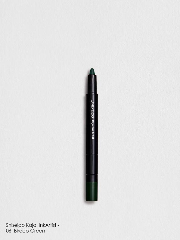 Shiseido Kajal InkArtist 0.8g 06 - Birodo Green