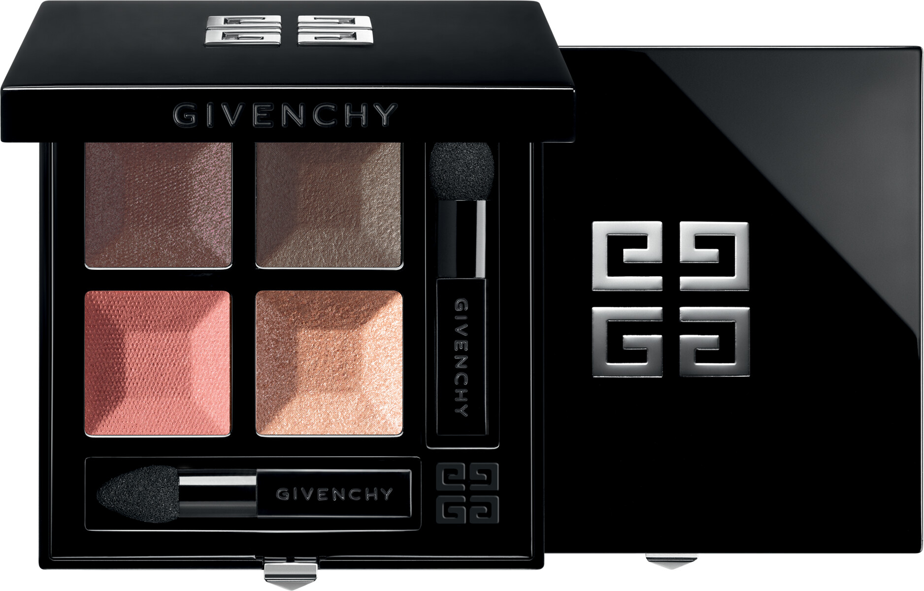 GIVENCHY Prisme Quatuor  Intense & Radiant Eyeshadow 4 Colors 4g 01  Caresse