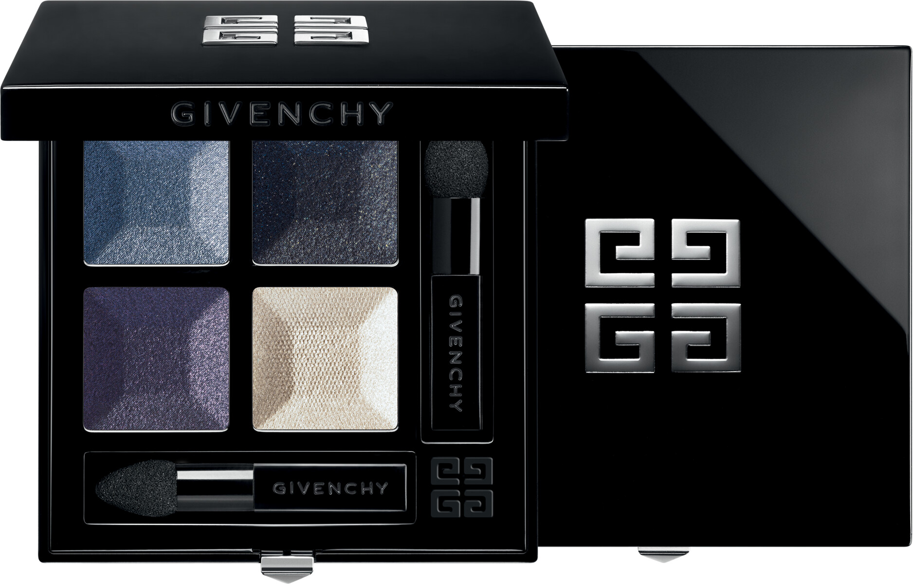 GIVENCHY Prisme Quatuor  Intense & Radiant Eyeshadow 4 Colors 4g 02  Ecume