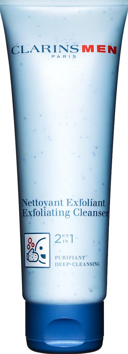 Clarins Men 2 in 1 Exfoliating Cleanser 125ml
