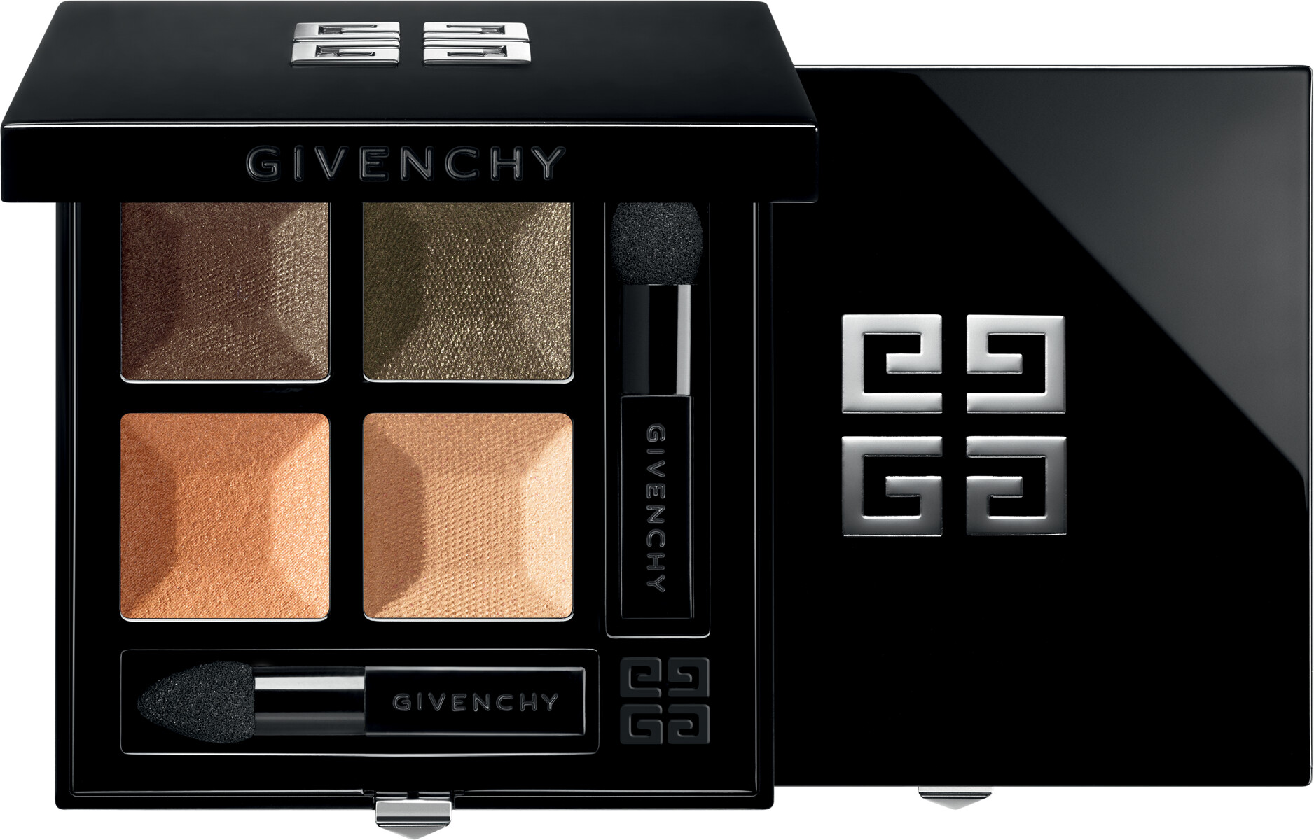 GIVENCHY Prisme Quatuor  Intense & Radiant Eyeshadow 4 Colors 4g 06  Confidence