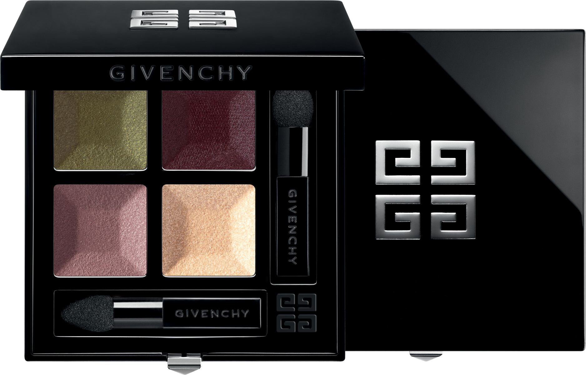 GIVENCHY Prisme Quatuor  Intense & Radiant Eyeshadow 4 Colors 4g 07  Tentation