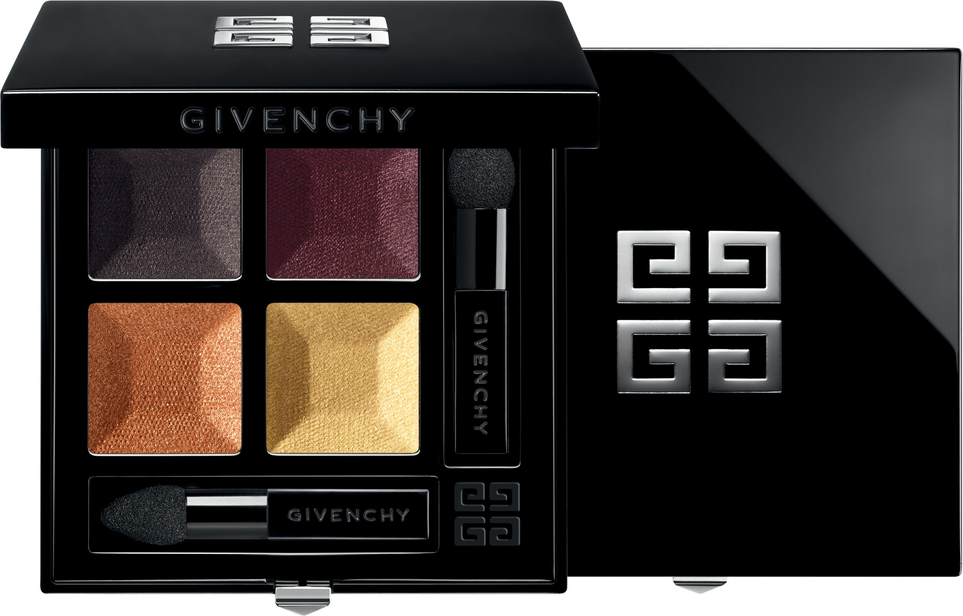 GIVENCHY Prisme Quatuor  Intense & Radiant Eyeshadow 4 Colors 4g 08  Braise