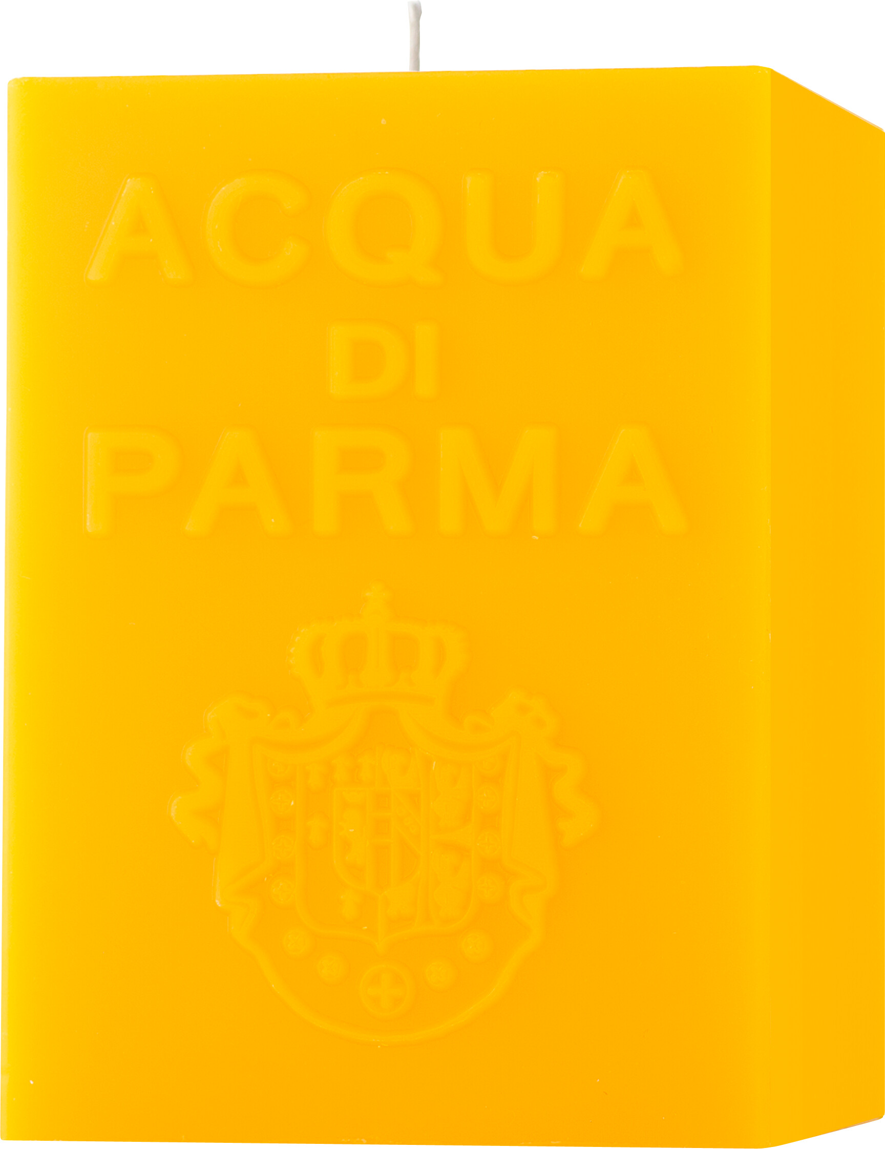 Acqua di Parma Large Cube Candle  Yellow  Colonia 1KG
