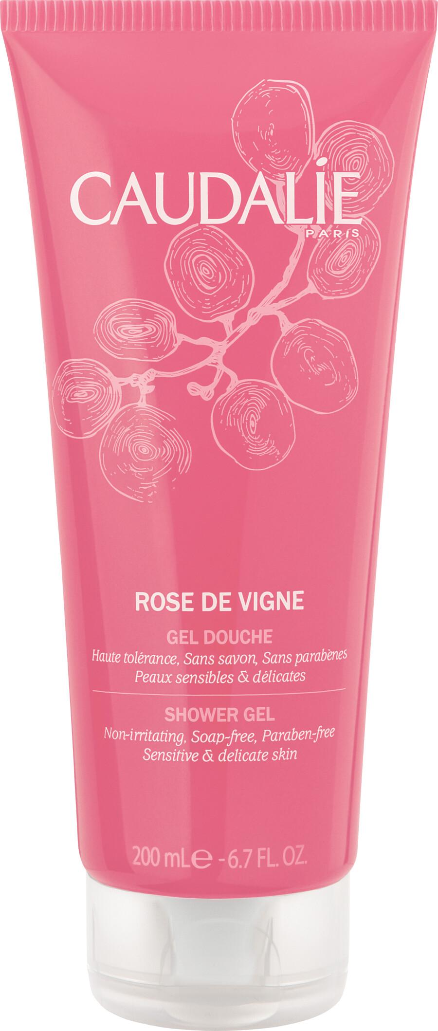 Caudalie Rose De Vigne Showergel 200 Ml