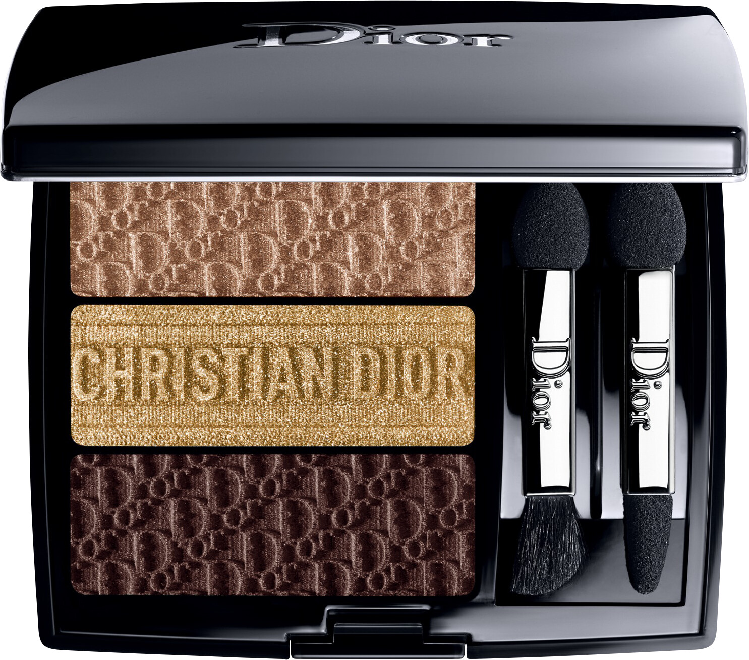 DIOR 3 Couleurs Tri(O)blique Couture Eyeshadow 3.3g 553 - Earthy Canvas