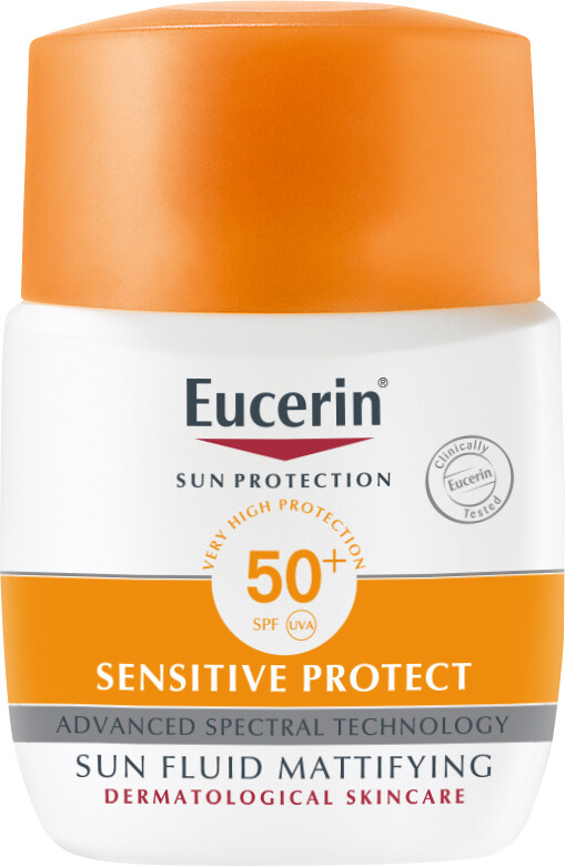 Eucerin Sensitive Protect Sun Fluid Mattifying SPF50+ 50ml