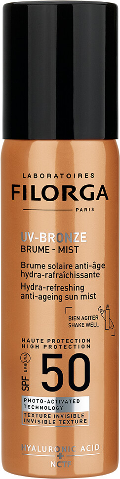 Filorga UV Bronze Sun Mist Hydra-Refreshing Anti-Ageing Sun Mist SPF50+ 60ml