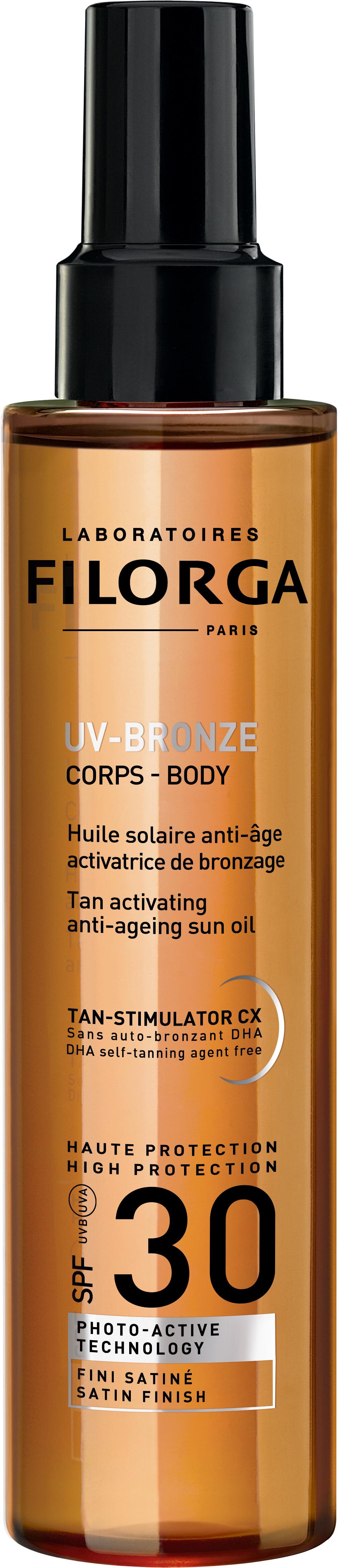 Filorga UV Bronze Body Tan Activating Anti-Ageing Sun Oil SPF30 150ml