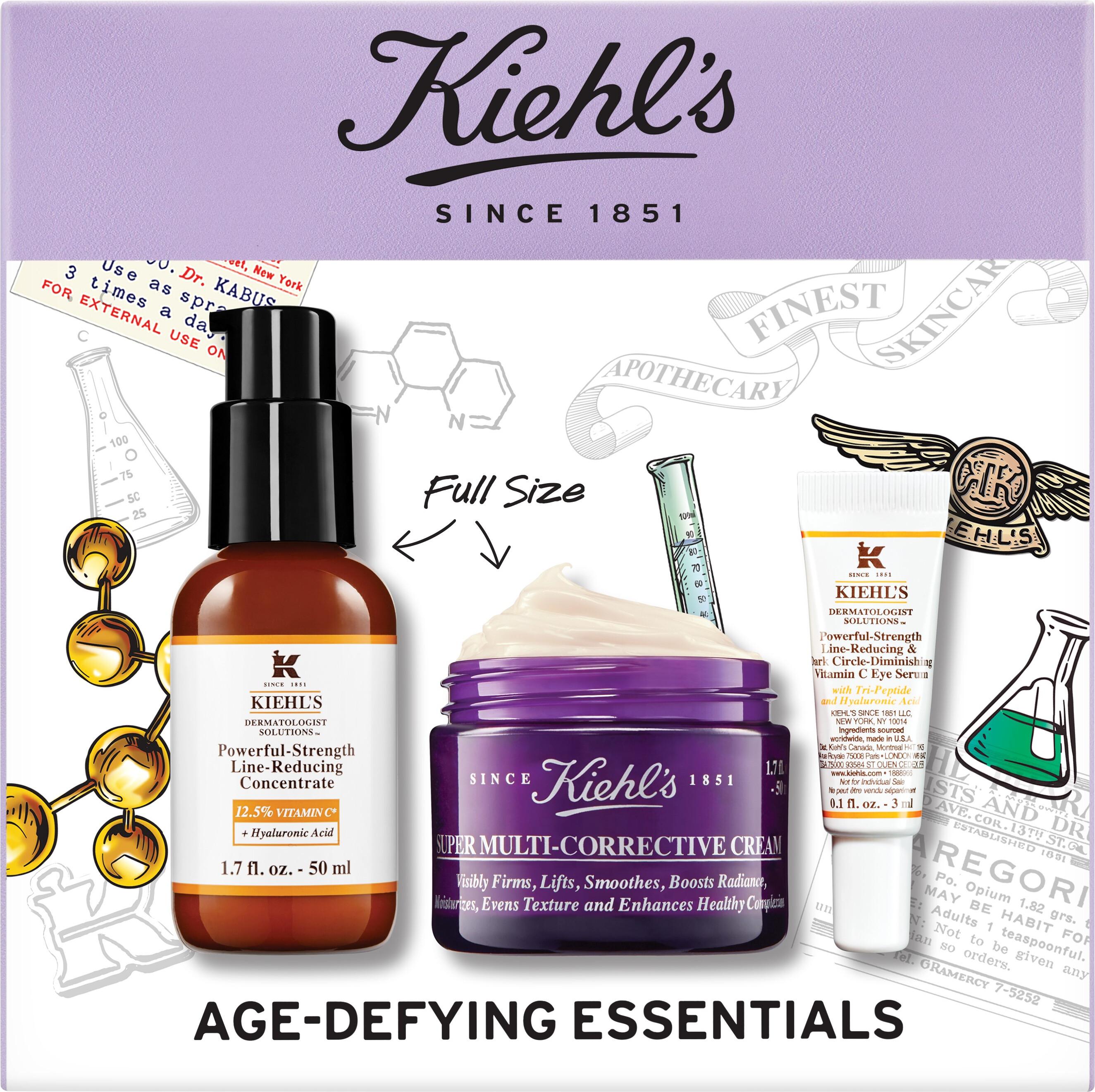 Skincare Kiehl's Age-Defying Essentials Gift Set