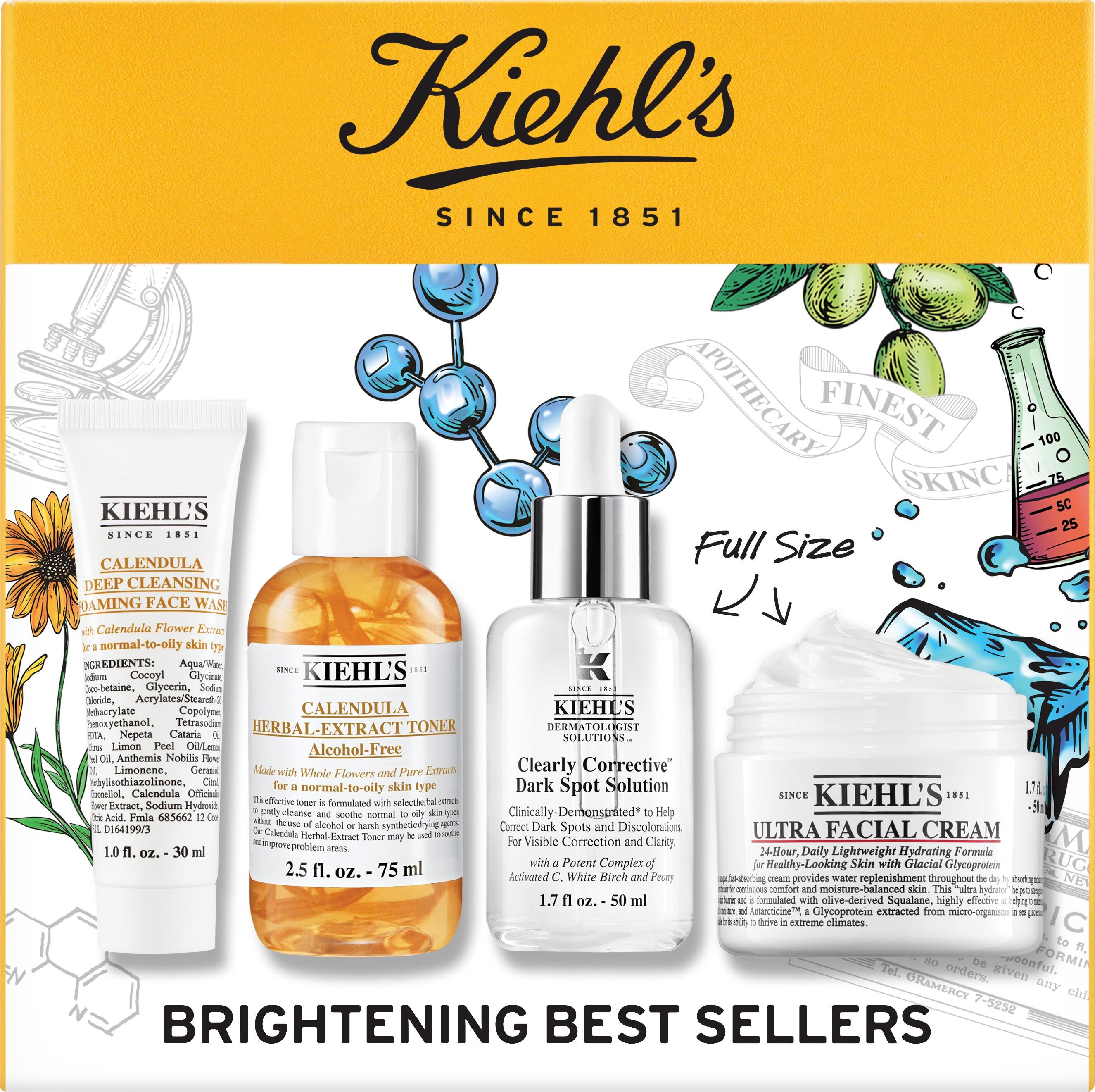 Skincare Kiehl's Brightening Best Sellers Gift Set