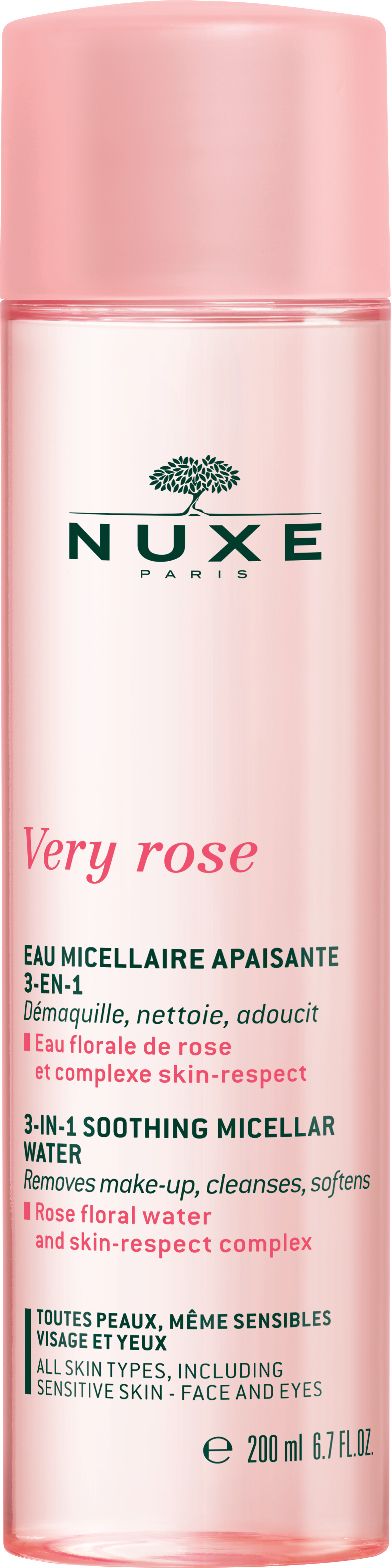 Nuxe Very Rose 3-in-1 Soothing Micellar Water 200ml