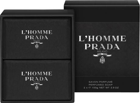 L'HOMME PRADA Perfumed Soap 2 x 100g