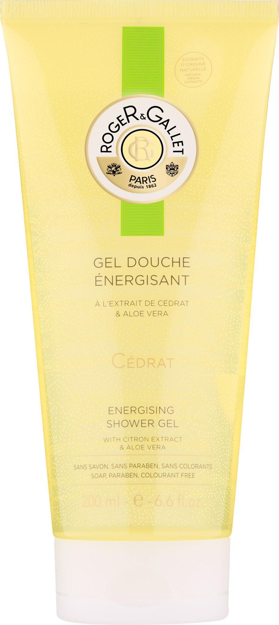 Roger & Gallet Citron Energising Shower Gel 200ml
