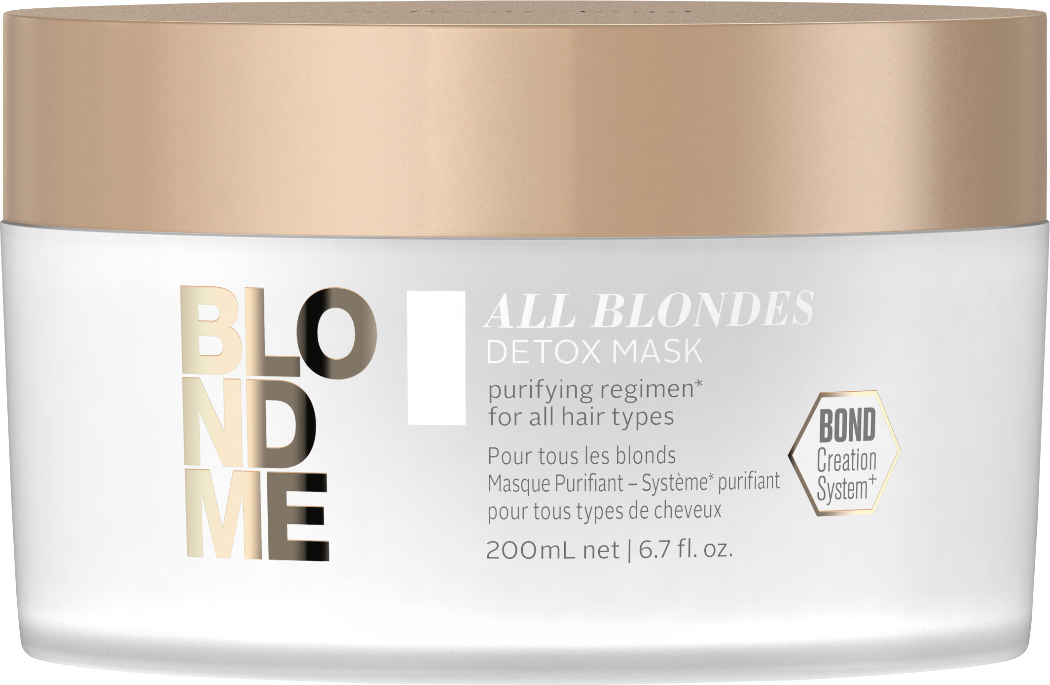 Haircare Products Schwarzkopf Professional BlondMe All Blondes Detox Mask 200ml