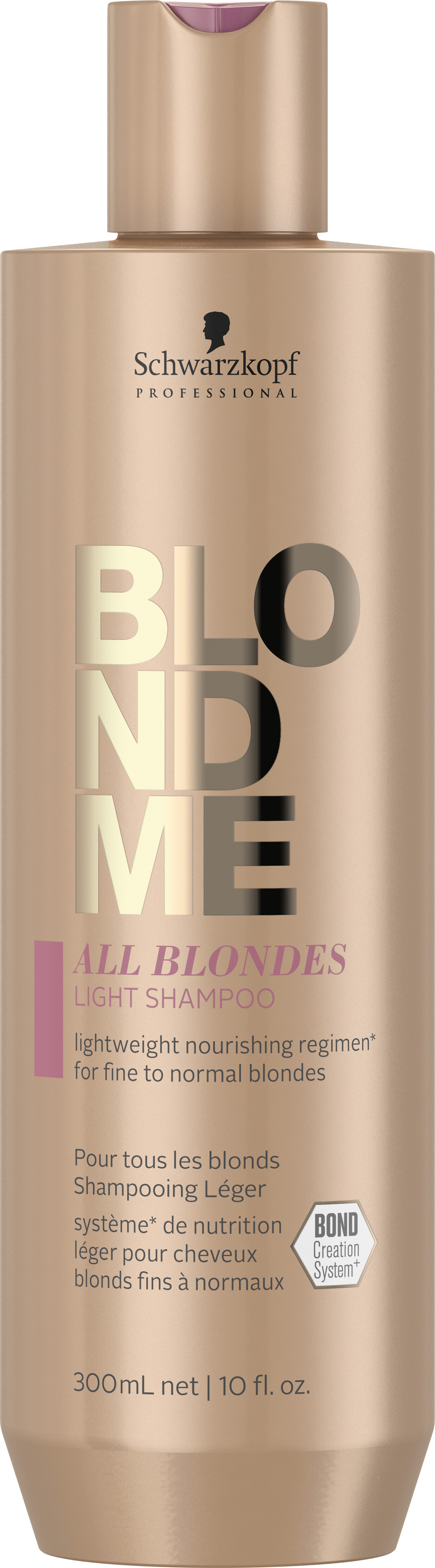 Haircare Products Schwarzkopf Professional BlondMe All Blondes Light Shampoo 300ml