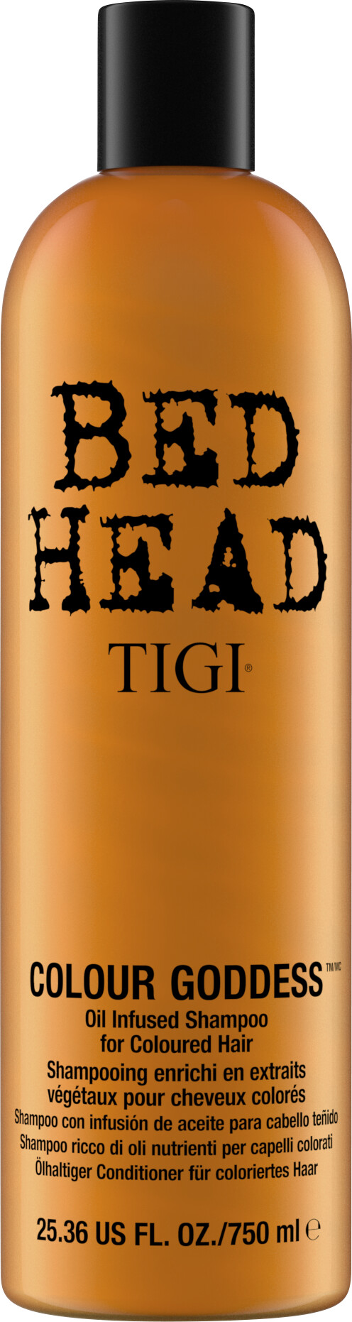 TIGI Bed Head Colour Goddess Oil Infused Shampoo 750ml