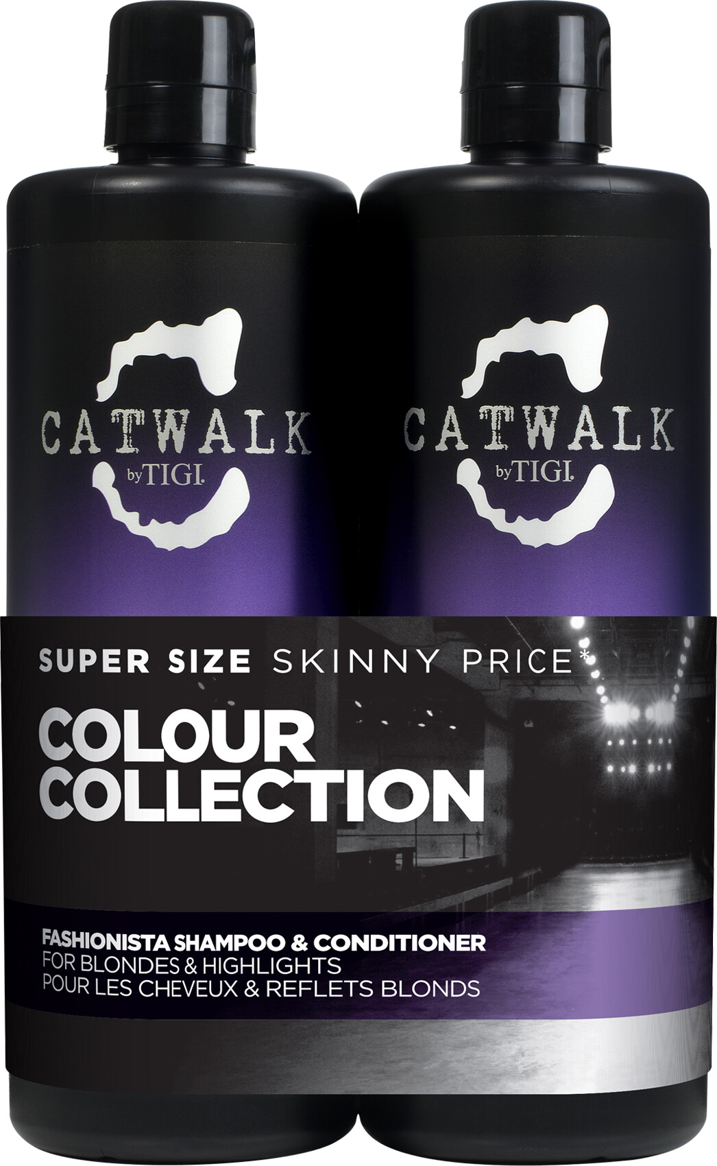 TIGI Catwalk Fashionista Shampoo and Conditioner Tween Duo 2 x 750ml