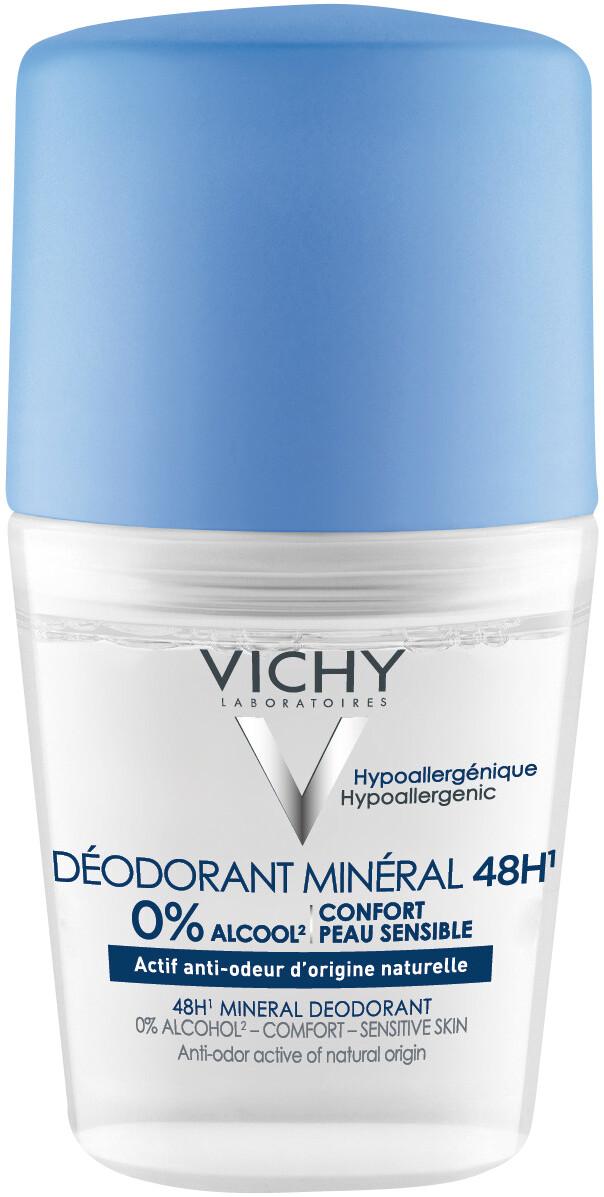 VICHY Mineral Deo Roll-On 48H 50 Ml
