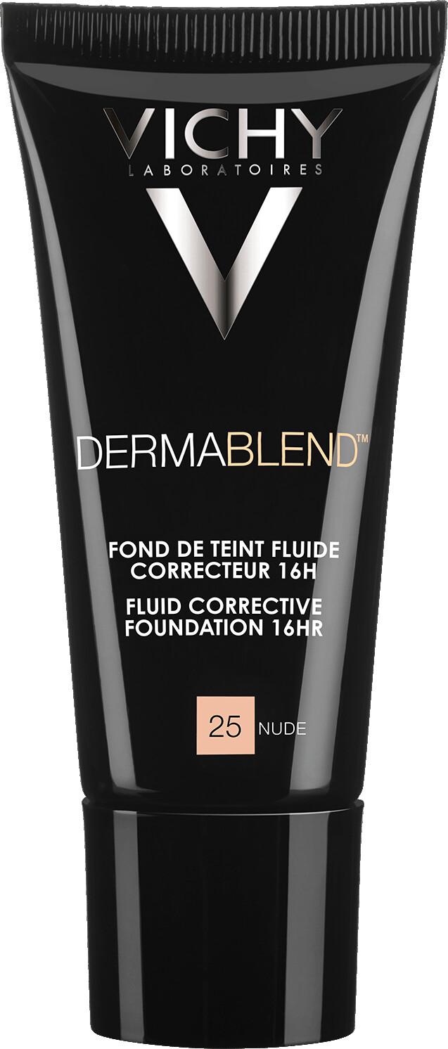 VICHY DERMABLEND Fluid Corrective Foundation 16HR 30ml 25 Nude
