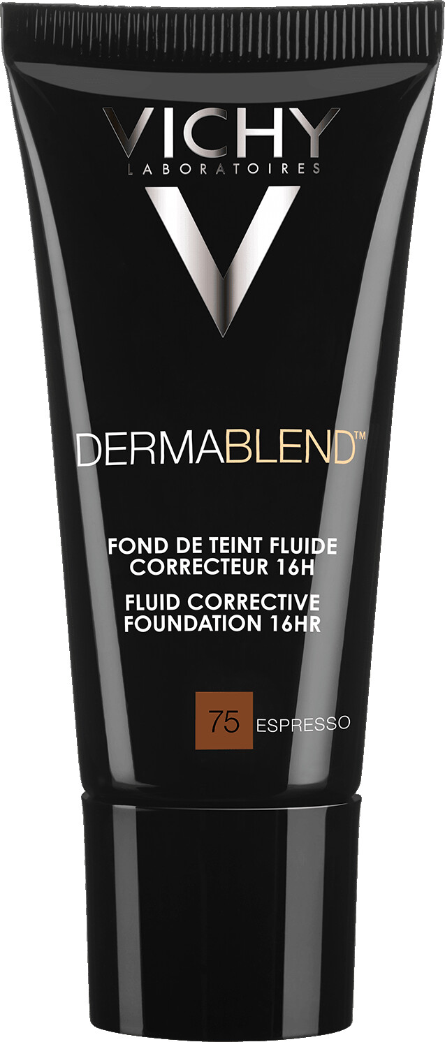 VICHY DERMABLEND Fluid Corrective Foundation 16HR 30ml 75 Espresso